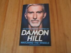 Damon Hill - Watching The Wheels - Autobiography - Used Book