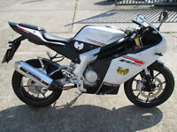 RIEJU RS3 SPORTS 125 CC MOTORCYCLES,COLOUR WHITE,