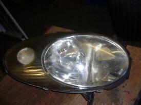 offside headlight for nissan micra k12