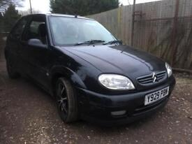 Citroen Saxo 1.4 Furio Long Mot Low Miles Drives Well VTR Rep low tax insurance and good mpg