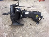 VW Polo Heater Motor Heater Matrix and Housing 2000 1.0