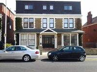 One bedroomed Fully Self Contained Flat with white goods,carpets and curtains.