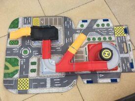 ELC Big City Carry Along City - Portable toy car road map