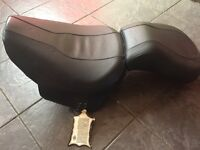 00-06 Harley Davidson flstf soft tail fat boy heritage oem front rider and rear passenger seat.
