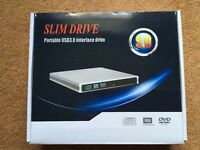 Slim drive USB3.0 interface drive