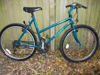 Giant ladies mountain bike shimano quick fire gears very good condition will deliver locally free