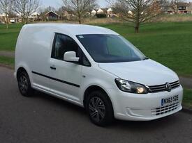 Volkswagen Caddy C20 TDi TEC Bluemotion Technology (white) 2013