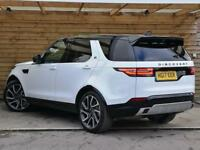 Land Rover Discovery 3.0 TD6 HSE Luxury 5dr Auto STUNNING EXAMPLE (polaris white) 2017