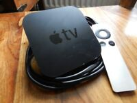 1080p Apple TV V3 great condition including Remote & power cord.