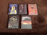 Job lot of 5 music DVDs for sale