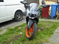KTM RC 125 not Yamaha YZF-R 125