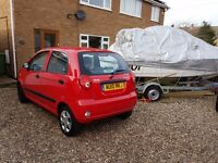 Chevrolet matiz, full mot and only 4992 miles with one owner from new