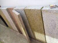 7 Granite Slabs