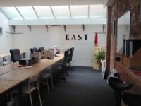 All Inclusive Self Contained Warehouse Style Office To Rent in East London's Hackney. £2,950 p/m