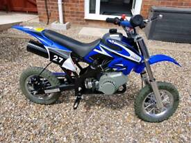 Kids petrol dirt bike