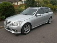 Mercedes-Benz C Class C180K BlueEFFICIENCY Sport 5dr Auto (silver) 2009