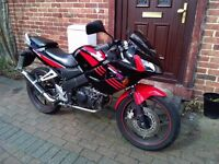 2009 Honda CBR 125 RW motorcycle, new 1 year MOT, new sports exhaust, learner bike, ride away ,,,