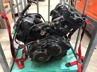 VFR400 motorbike engine