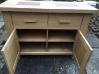 Oak sideboard/unit