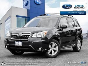 2015 Subaru Forester 2.5i Touring w/ Technology at Roof,Reverse