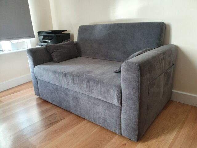 Remarkable Ravena 2 Seat Click Clack Pull Out Sofa Bed Living Room Lounge Charcoal Fabric Good Condition In London Gumtree Evergreenethics Interior Chair Design Evergreenethicsorg
