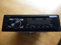 Pioneer car stereo - CD and radio