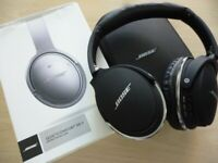 beautiful quality brand new boxed BOSE QC11 quiet comfort bluetooth headphones,v/nice.
