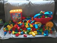 Huge Megabloks Bundle over 450 Pieces Lego Compatible