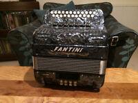 Fantini Jig 4 Voice B/C Accordion / Melodeon