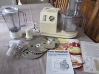 Moulinex Masterchef 65 Food Processor in perfect working order, albeit had a long time in cupboard!
