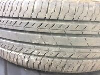 Mini standard wheels with trims good tyres