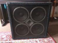 Hartke VX 410 Bass Amplifier Cabinet 400 watts @ 8 ohms