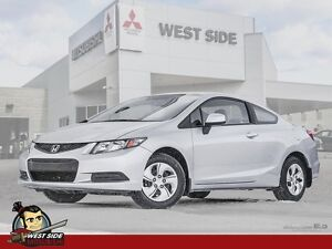 2013 Honda Civic LX-One Owner-FWD-1.8L-$54/WEEK