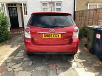toyota verso 65 plate 1.6 d4d. Pco ready. full toyota history with all papers 2 keys
