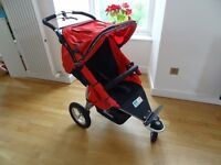 TFK Joggster Twist stroller + accessories in great condition for sale