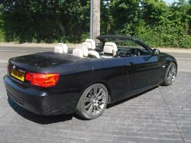 BMW 330d Convertible Manual Late 2011 61 Reg Excellent condition Low Mileage