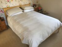 King Size Double Bed and Mattress