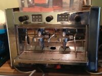 Brasilia grandisca espresso and cappuccino machine, coffee grinder and a lincat water heater