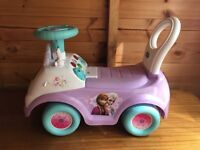 Price reduced! Frozen ride on toy 6 weeks old