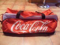 coca cola limited edition holdall never been used