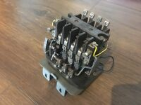 Boxford lathe contactor, DOL motor starter