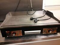 Catering griddle grill