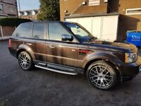 RANGE ROVER SPORT 2009 2.7 HSE LOW mileage HPI Clear
