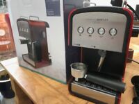 Coffee Machine Charles Bentley Red Boxed