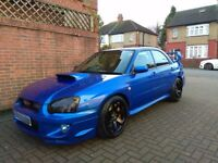 2004 SUBARU IMPREZA WRX STI TYPE UK **LOW MILES** MINT** V2 AIR RIDE** MODS** PX