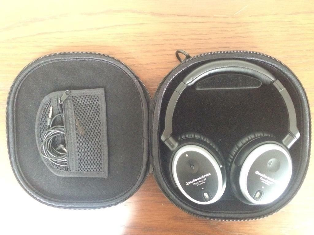 2cffe119a37 Audio-technica ATH-ANC7b wired noise-cancelling headphones | in Cambridge,  Cambridgeshire | Gumtree