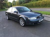 2002 02 PLATE AUDI A4 1.8 TURBO SPORT 163 - RE-MAPED TO 200 BHP