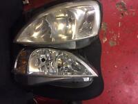 Vauxhall combo van headlights