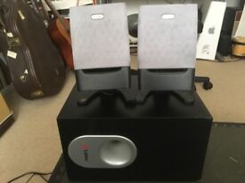 Labtech Pulse 485 Speakers w Subwoofer
