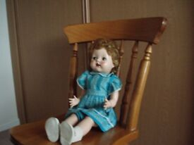 Pedigree (Elizabeth) Hard Plastic Doll, 1950's.